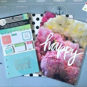 The Happy Planner Classic Cover and Stickers